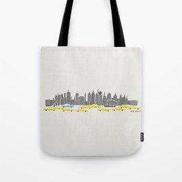 New York City Panoramic Tote Bag
