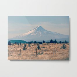High Desert Haze Metal Print