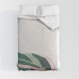 Pink Leaves II Comforters