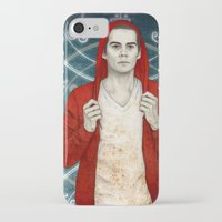stiles iPhone & iPod Cases featuring Stiles demon by Sudjino