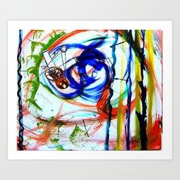 MOZART: Horn Concerto        by    Kay Lipton Art Print