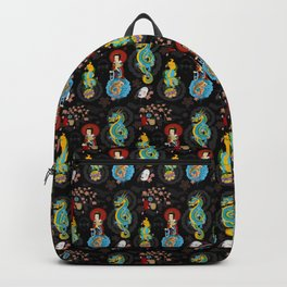 Japanese Tattoo Inspired Backpack