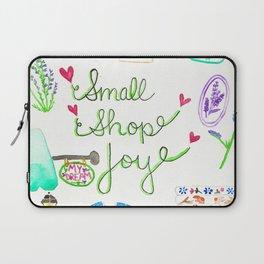Small Shop Joy Laptop Sleeve