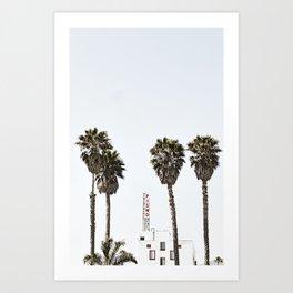 Pismo Beach Hotel Art Print