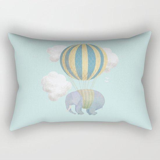Escape From the Circus Rectangular Pillow