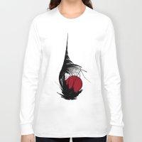 asian Long Sleeve T-shirts featuring Asian Sun by Digital-Art