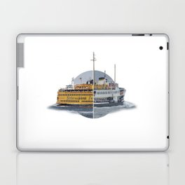 Ferries - nyc vs istanbul Laptop & iPad Skin
