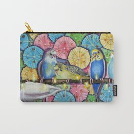 Parakeet Theater Carry-All Pouch