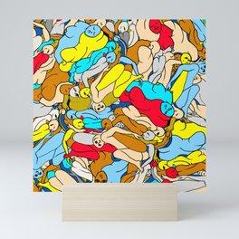 Primary Body Slugs Mini Art Print
