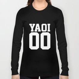Yaoi Jersey Style  Anime BL japanese Long Sleeve T-shirt