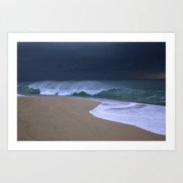 The perfect storm. Art Print