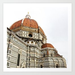 Basilica Santa Maria Del Fiore Duomo Art Print