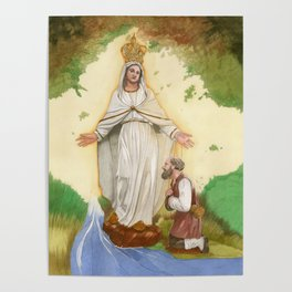 Mater Misericordiae Poster