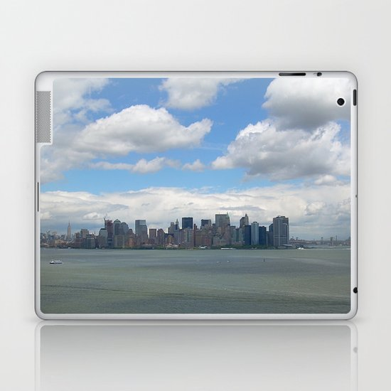 View from Lady Liberty Laptop & iPad Skin