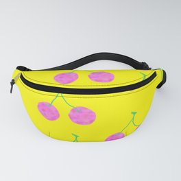 Words from Cherry - fruit love illustration wedding gift Fanny Pack
