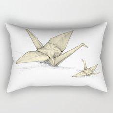 Paper Cranes Rectangular Pillow