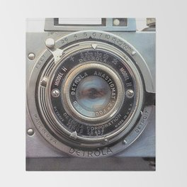 Detrola (Vintage Camera) Throw Blanket