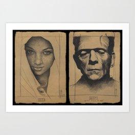 Even Adam Art Print