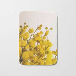 Flower Photography by Anastasiia Ostapovych Bath Mat