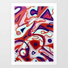 Dangerous Waves Art Print