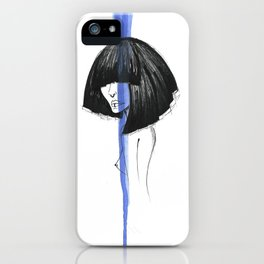 BLUE MYSTIC iPhone Case