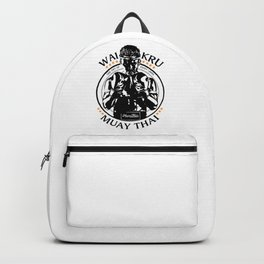 Muay Thai Wai Kru Backpack