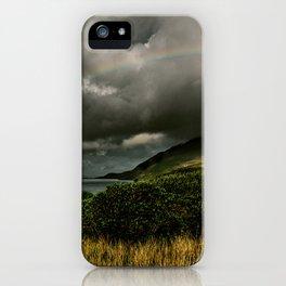 Galway Ireland Green Mountain Lake iPhone Case