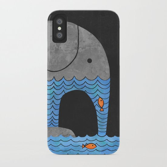 Thirsty Elephant  iPhone Case