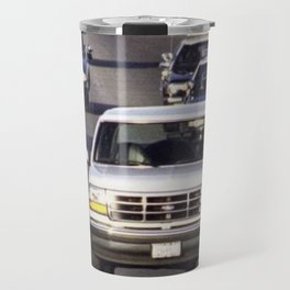 OJ Simpson Car Chase Travel Mug