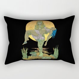 She Creature from the Black Lagoon Rectangular Pillow