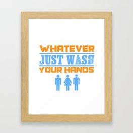 LGBT Aliens Equality Funny Present Framed Art Print