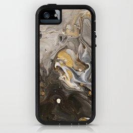 Acrylic pour #1 iPhone Case