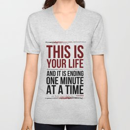 Fight Club - This is Your Life... Unisex V-Neck
