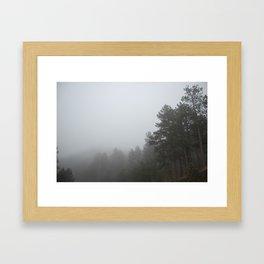 Spectral Forest Framed Art Print