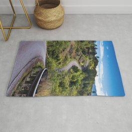 The Road To Greatness Kauai Hawaii Rug