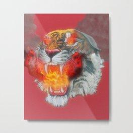 Burn Inside Metal Print