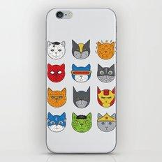 Super Cats iPhone & iPod Skin