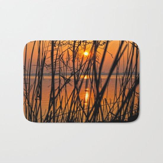 Nature Sunset Bath Mat