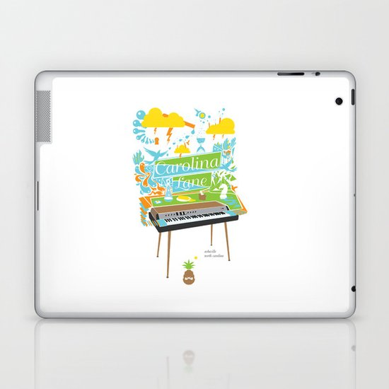 Carolina Lane. Laptop & iPad Skin