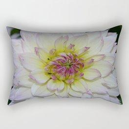 Dahlia Pastel Tones Rectangular Pillow
