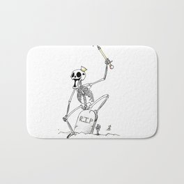 Skull King Bath Mat