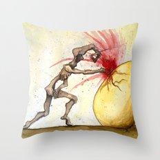 Mercuriosity Throw Pillow
