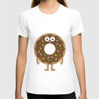 rainbow T-shirts featuring It's Not All Rainbow Sprinkles... by David Olenick