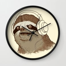 What is a sloths favourite music? Wall Clock