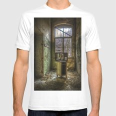 Hospital TV Mens Fitted Tee SMALL White