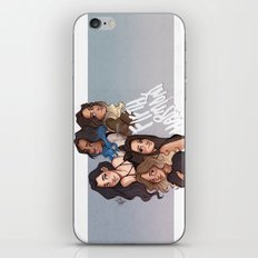 miss movin' on iPhone & iPod Skin
