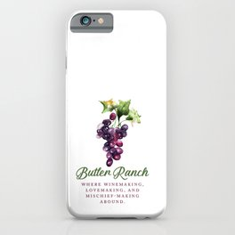 Butler Ranch iPhone Case