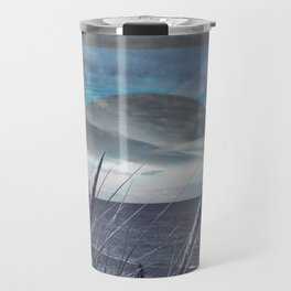 Before the Storm - blue graphic Travel Mug