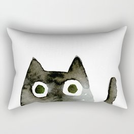 I Love Cats No.13 by Kathy Morton Stanion Rectangular Pillow