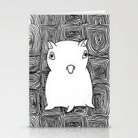 dumbo Stationery Cards featuring Dumbo Octopus by Indigo K